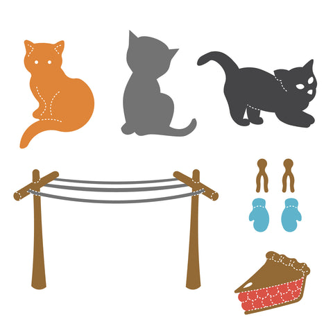 Three Little Kittens Set