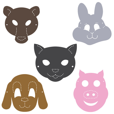 Masks-Animals Set
