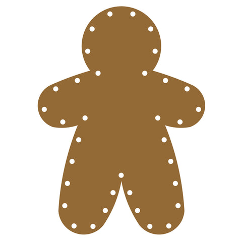 Gingerbread Man-Lacing