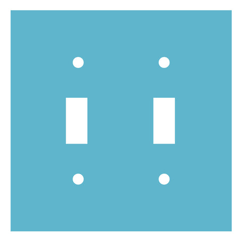 Light Switch Plate-Double