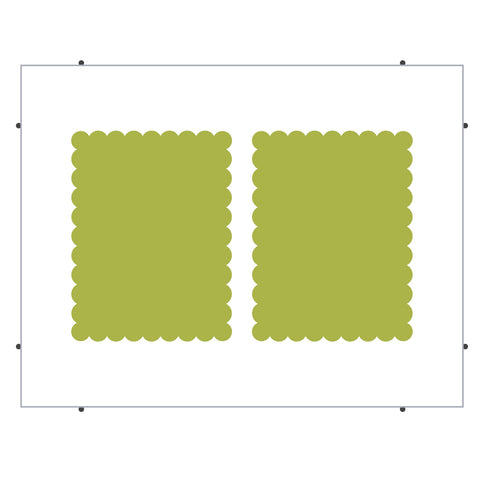 A2 Card Mats-Scalloped (Pinnovation)