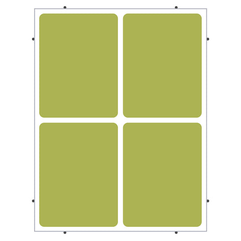 A2 Card Mats-Rounded (Pinnovation)