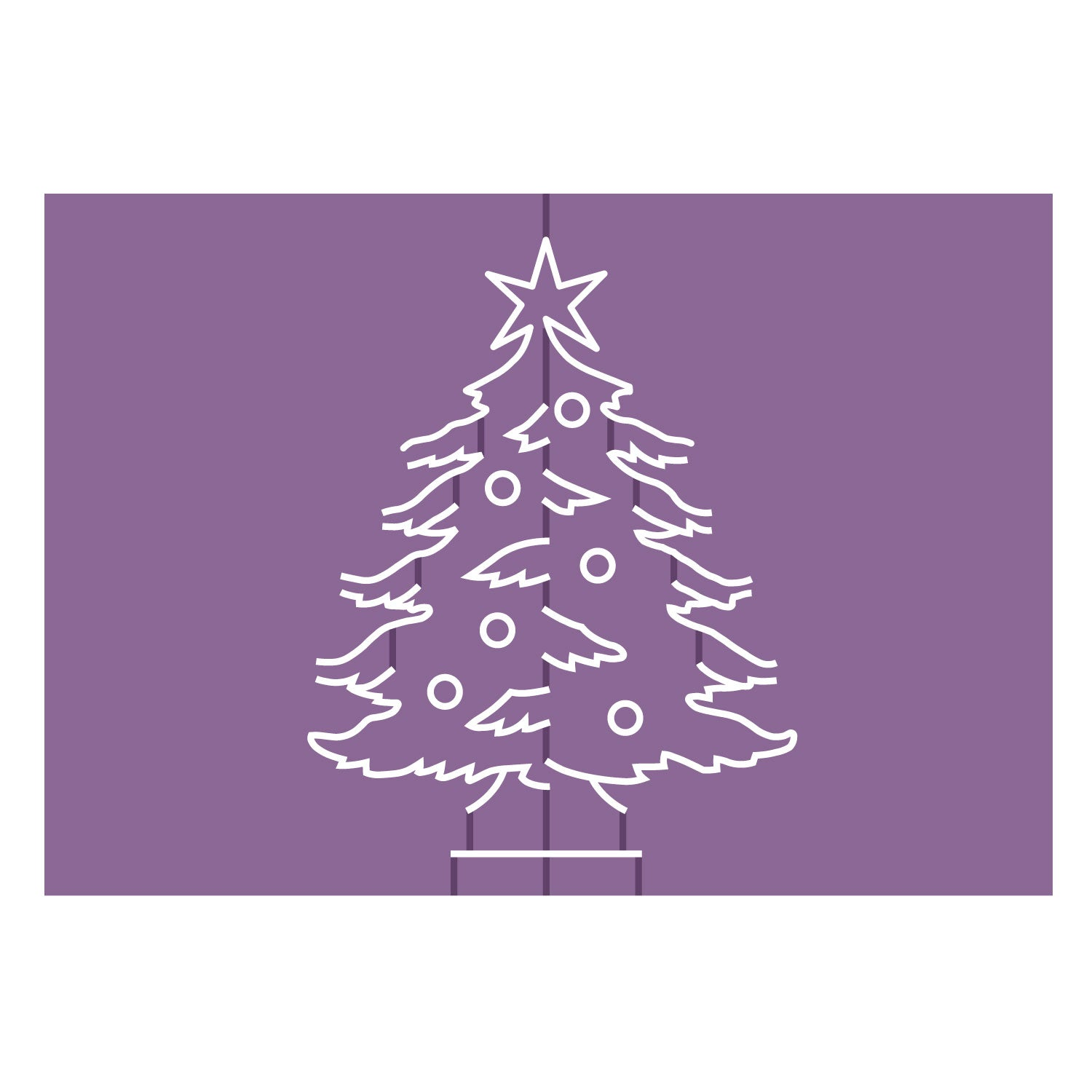 Cards in Nothing Flat-Christmas Tree – AccuCut