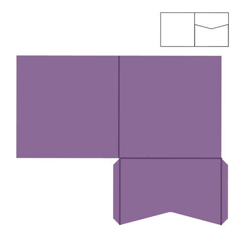 "Pocket Card-Square-5 3/4"" #3"