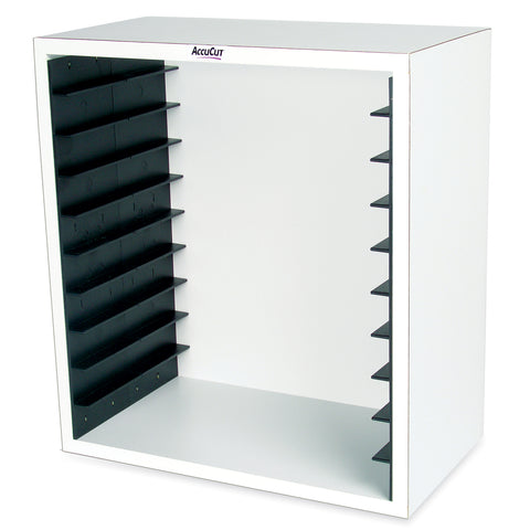 White Storage Case - Holds 10 Jumbo Dies