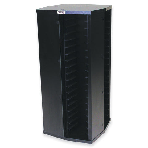 Black Storage Carousel - Holds 76 Large, Small, Mini or Series 2 Dies