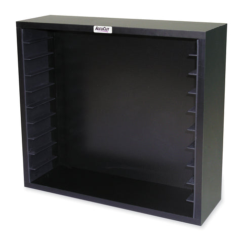 Black Storage Case - Holds 10 Extra Long Cut Dies