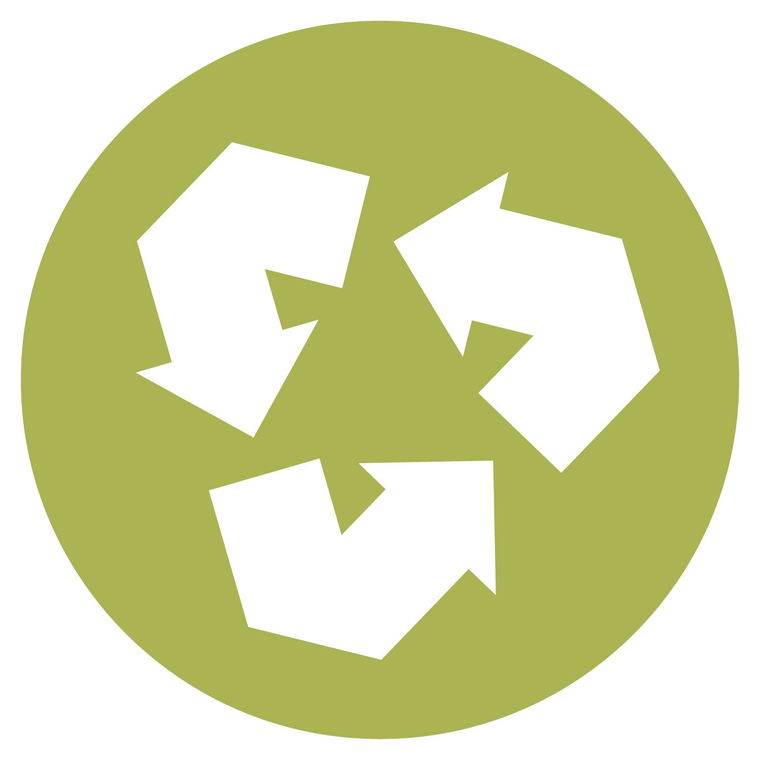Recycle Symbol Accucut