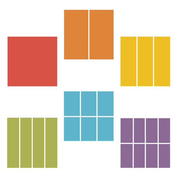 Fraction Square Set