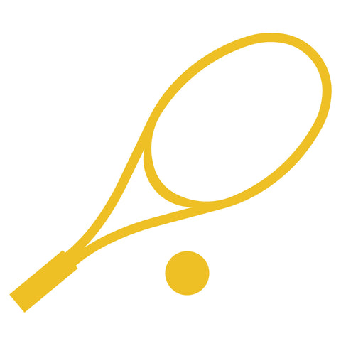 Tennis Racket w/Ball