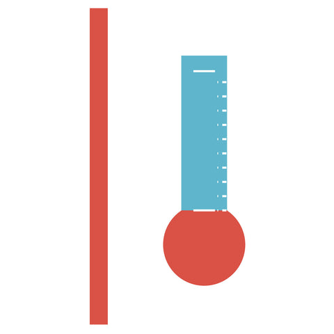 Thermometer w/Slide