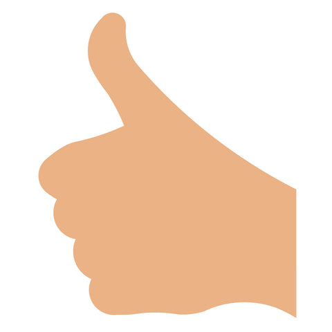 Hand Sign-Thumbs Up