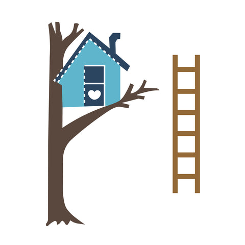 Tree House & Ladder
