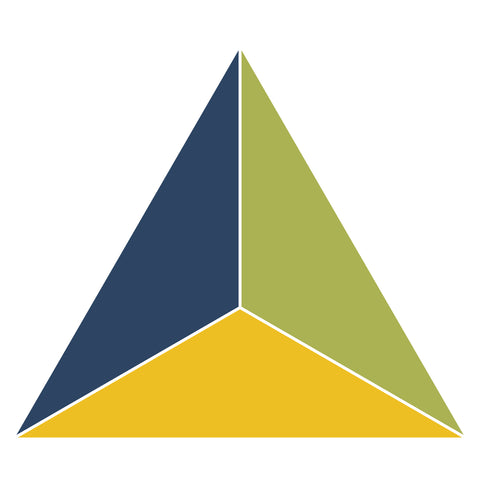 Fraction Triangle-1/3