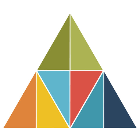 Fraction Triangle-1/8