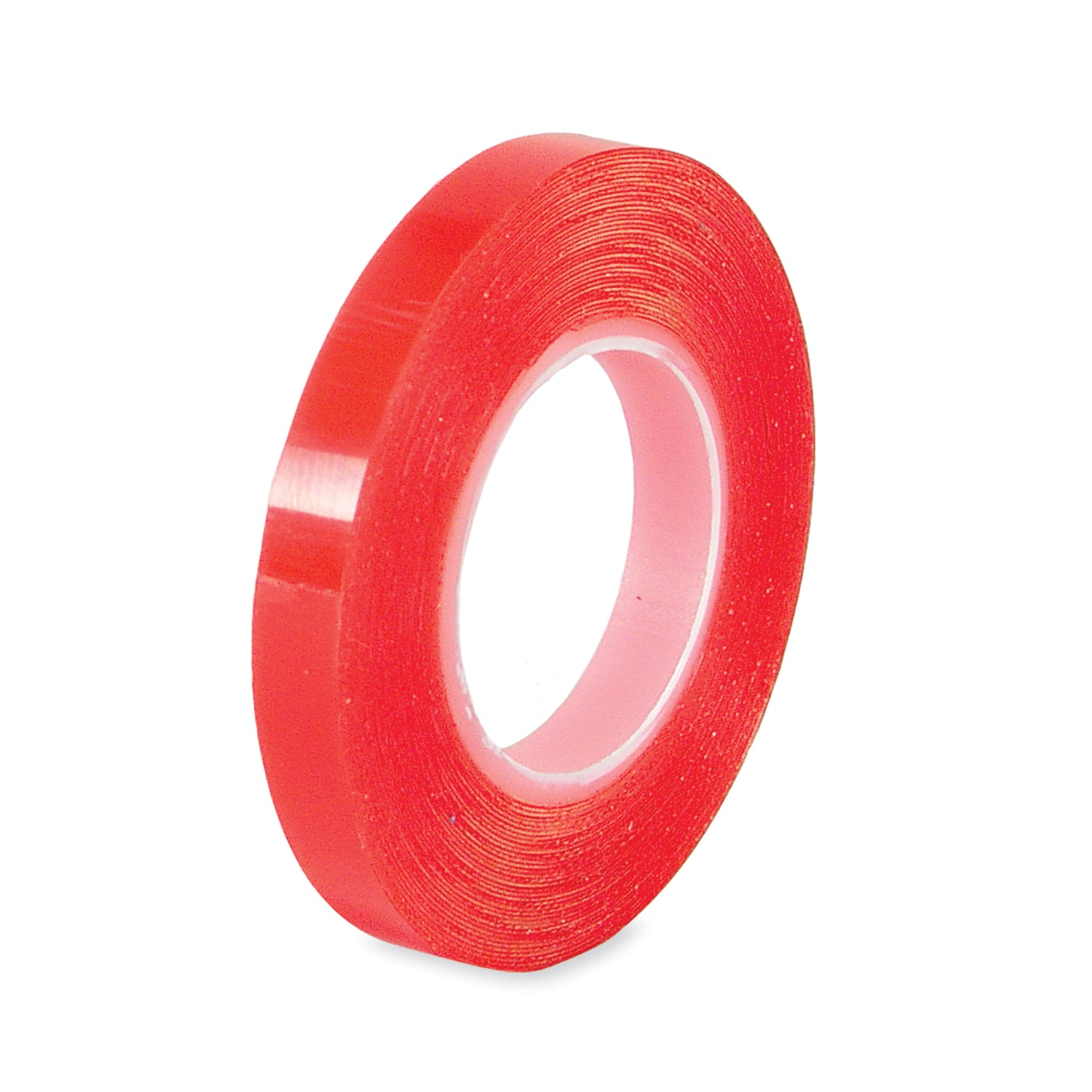 Red liner double stick adhesive tape