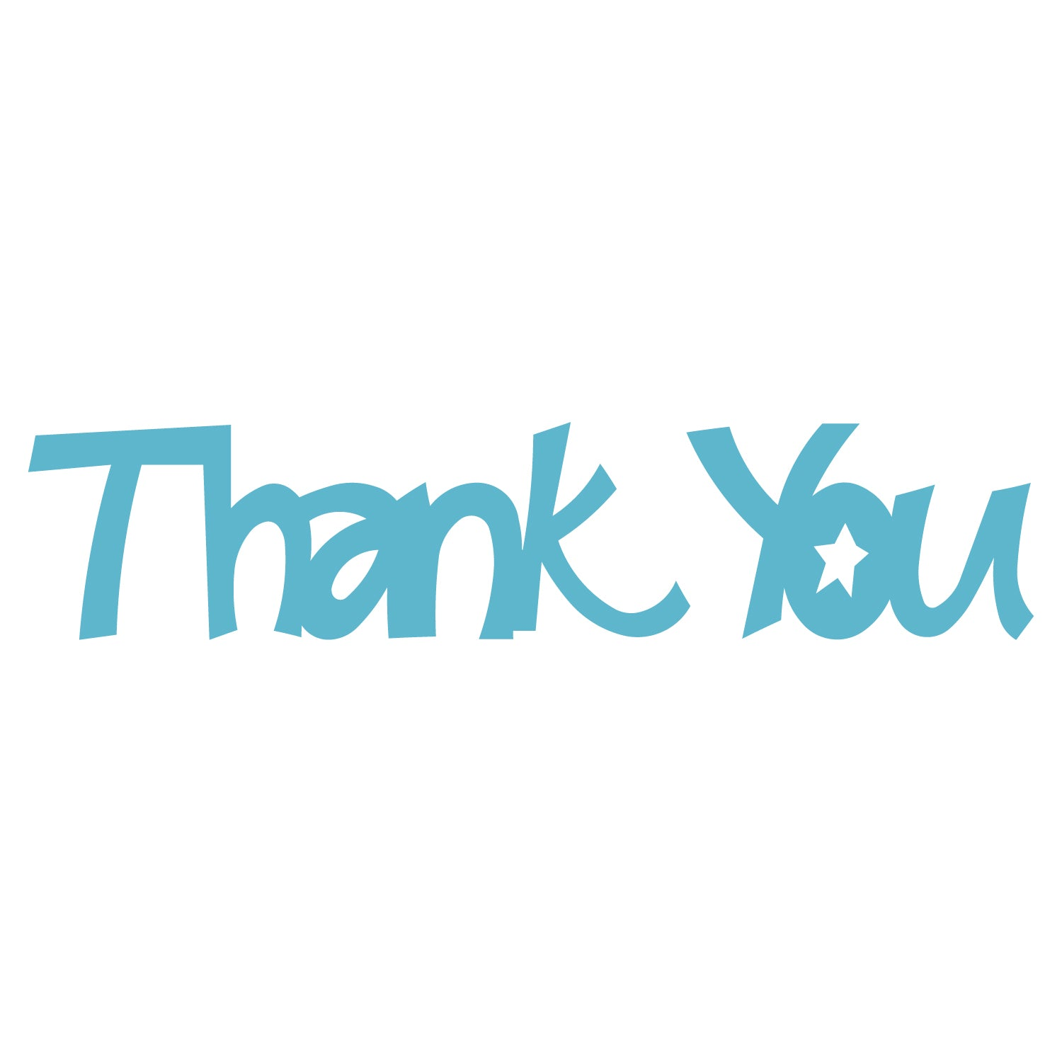 Word-Thank You – AccuCut