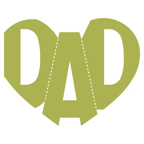 Word-Dad-Heart