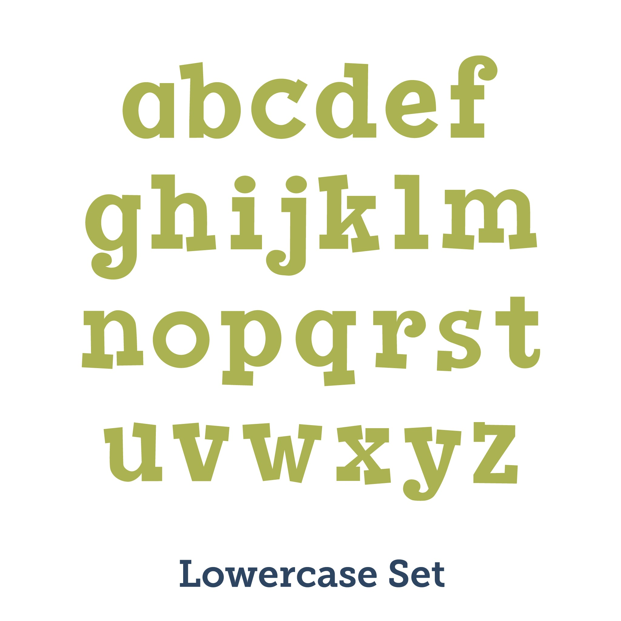 lowercase bands alphabet products jellybean accucut inch