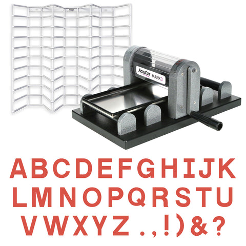 MARK 3 Block Alphabet Starter Set