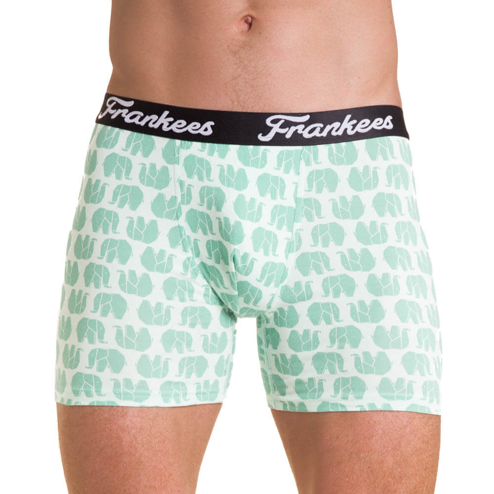 Boxer Briefs - Mint Ellies