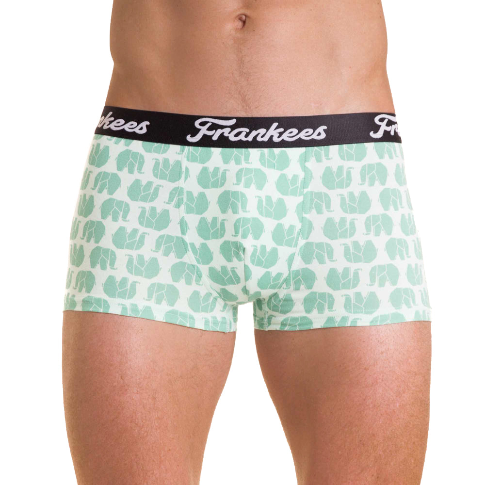 Short Leg Trunks - Mint Ellies