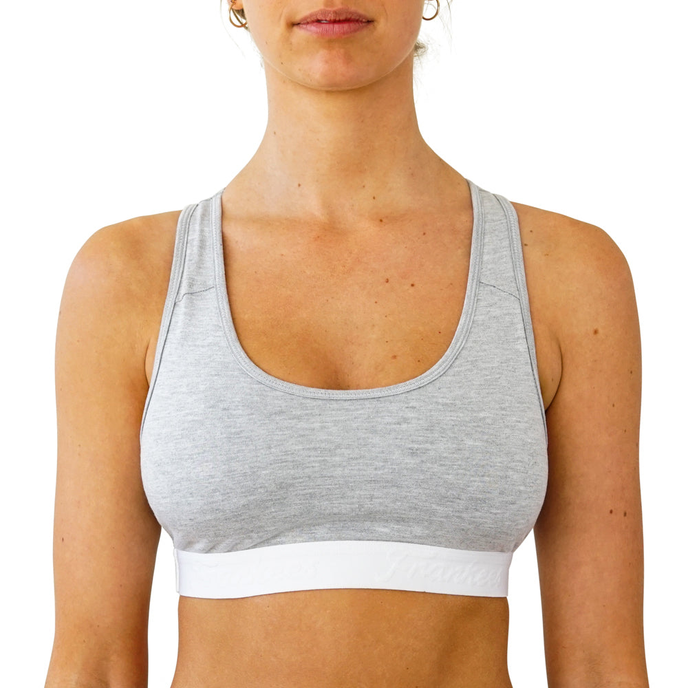 Crop Top - Grey Melange