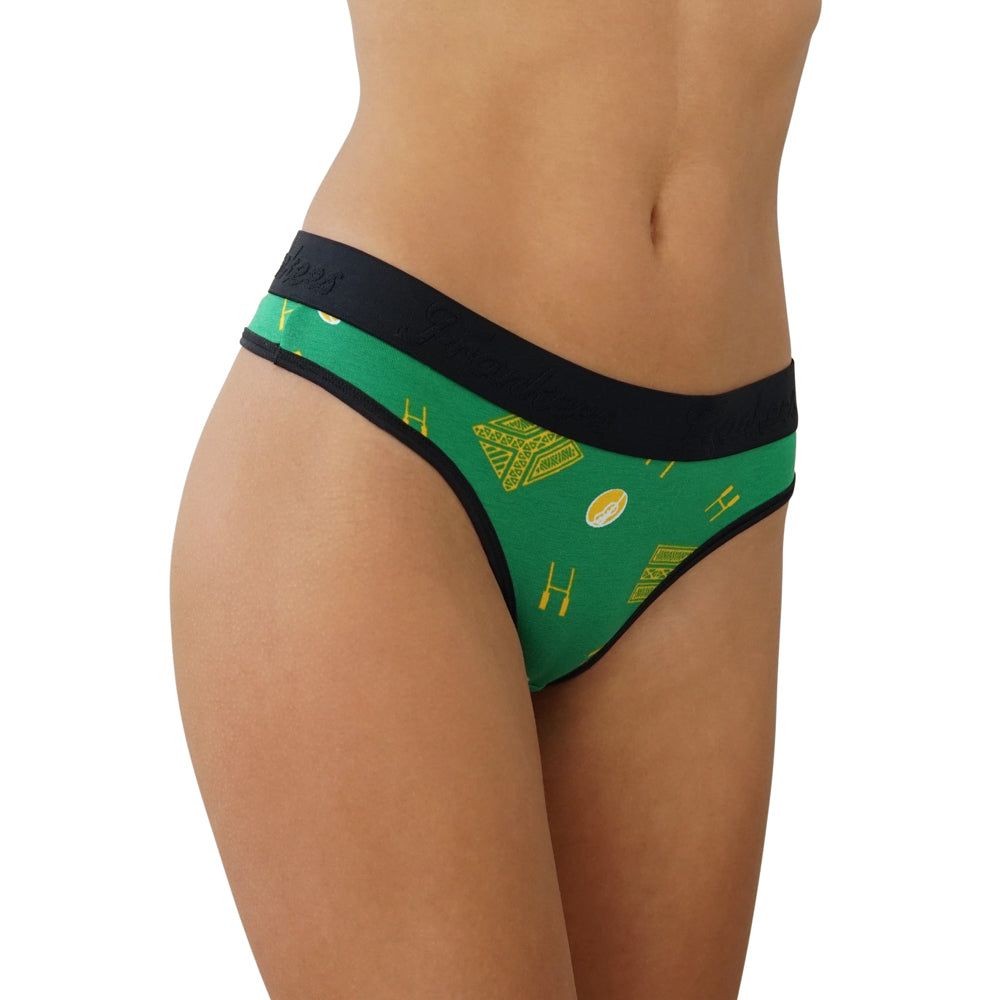 G String - Green & Gold