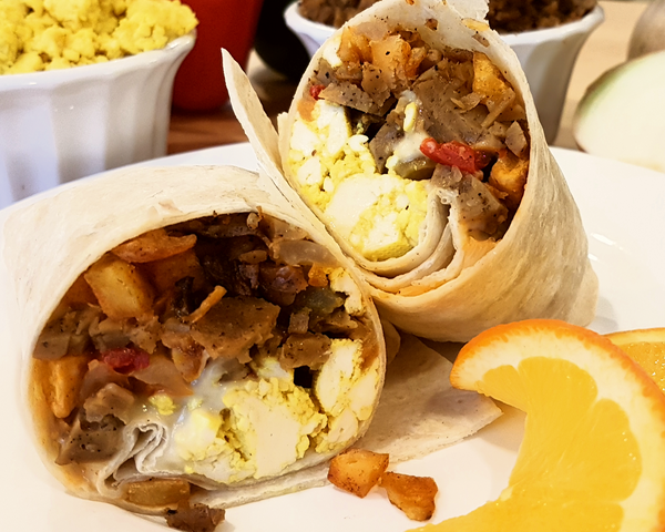 Breakfast Supreme Burrito (DF/V)