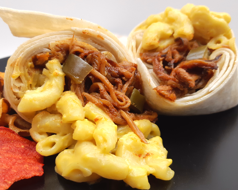 BBQ Pulled 'Pork' Mac & Cheeze