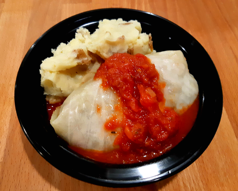 Cabbage Roll Dinner (GF/DF/V)