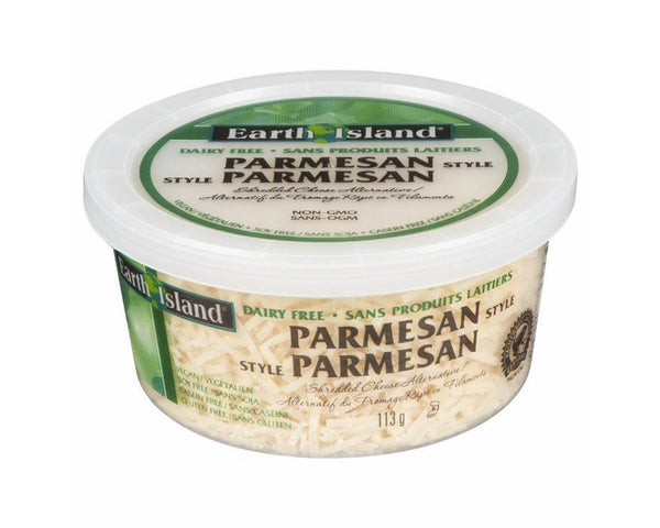 Earth Island Parmesan Style Shredded Cheese Alternative