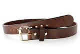 30 Dollar Gun Belt - USA MADE Gun Belt - Brown Smooth