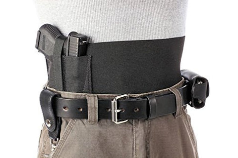 4 Inch Wide One Gun Belly Band Holsters