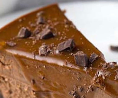 Chocolate Reese's Peanut Butter Cup Dessert Cheesecake