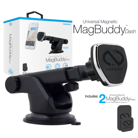 Naztech MagBuddy Universal Magnetic Dash Mount Black