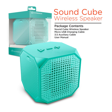 HyperGear Sound Cube Wireless Speaker