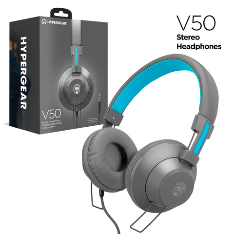 HyperGear V50 Headphones w/Mic 3.5mm