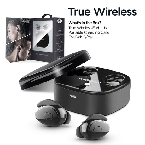HyperGear True Wireless Earbuds Black