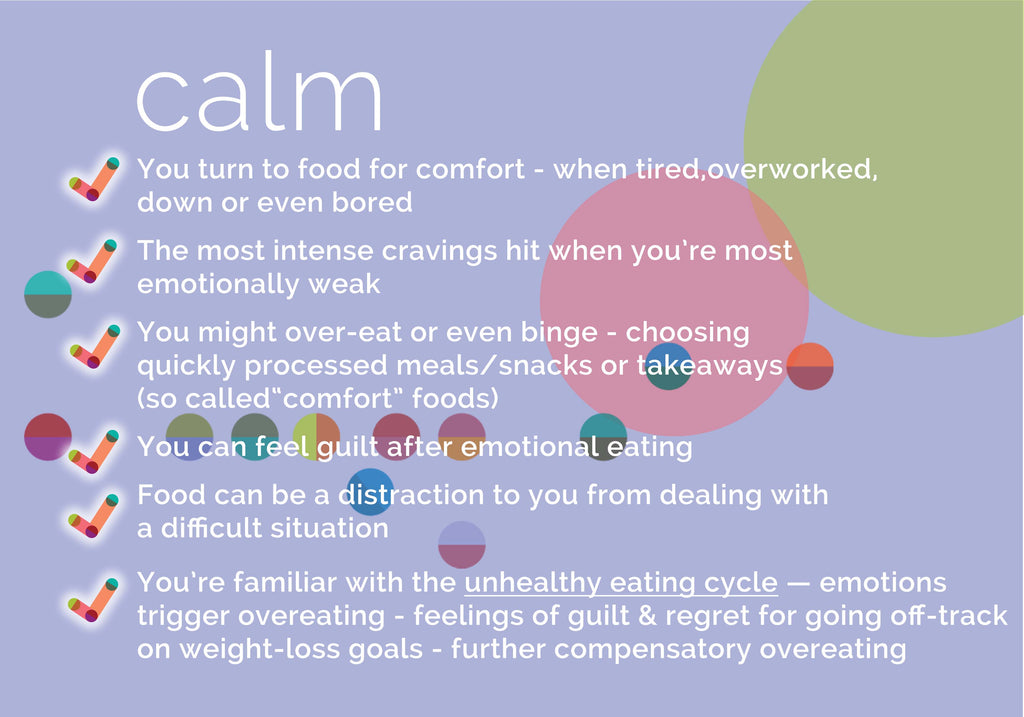 emotional eating - key features - begu lifestyle teas and plans