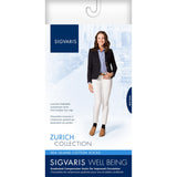Sigvaris Sea Island Cotton Women's 15-20 mmHg Knee High