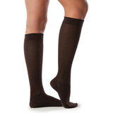 Sigvaris Merino Wool Women's 20-30 mmHg Knee High, Brown
