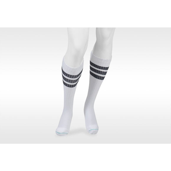 Juzo Power Comfort 15-20 mmHg Knee High, Retro White