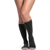 Sigvaris Merino Outdoor Socks 15-20 mmHg Knee High, Olive