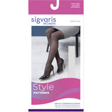 Sigvaris Patterns Women's 15-20 mmHg Pantyhose
