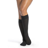 Sigvaris Medium Sheer Women's 20-30 mmHg Knee High, Black