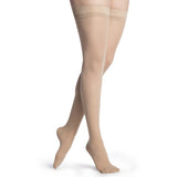 Sigvaris Medium Sheer Women's 20-30 mmHg Thigh High, Natural