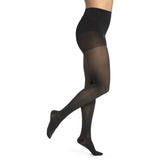 Sigvaris Medium Sheer Women's 20-30 mmHg Pantyhose, Black