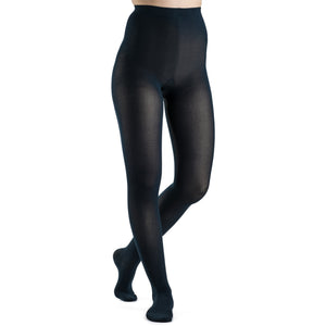 Sigvaris Soft Opaque Women's 30-40 mmHg Pantyhose, Midnight Blue