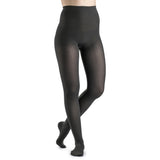 Sigvaris Soft Opaque Women's 20-30 mmHg Pantyhose, Graphite